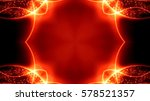 Abstract Fire Color Background