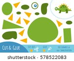 education paper game for... | Shutterstock .eps vector #578522083