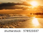 beautiful scenic landscape of... | Shutterstock . vector #578523337