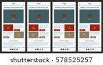 corporate vector layout...   Shutterstock .eps vector #578525257