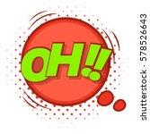 oh  comic speech bubble icon....