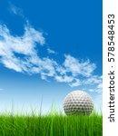 green  fresh and natural 3d... | Shutterstock . vector #578548453
