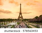 paris  france   may 07  2015 ... | Shutterstock . vector #578563453