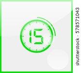 timer icon   Shutterstock .eps vector #578571043