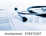 bill from the doctor concepts...   Shutterstock . vector #578572357
