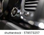 engine start stop button | Shutterstock . vector #578573257