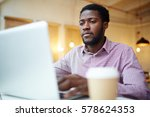 businessman concentrating on... | Shutterstock . vector #578624353