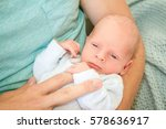young loving father with... | Shutterstock . vector #578636917