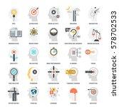 modern flat vector illustration ... | Shutterstock .eps vector #578702533