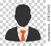 businessman icon. vector... | Shutterstock .eps vector #578716543