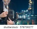bussiness concept   businessman ... | Shutterstock . vector #578730277