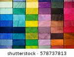 spectrum of multi colored... | Shutterstock . vector #578737813