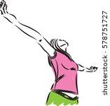 fitness 1 vector image...   Shutterstock .eps vector #578751727