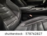 luxury car interior with close...   Shutterstock . vector #578762827