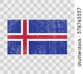 vector grunge styled flag of... | Shutterstock .eps vector #578765557