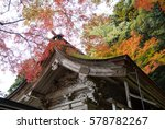 Fall Colors In Kyoto.