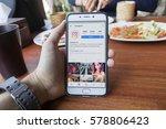 chiang mai  thailand   feb 8... | Shutterstock . vector #578806423