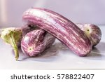 long sri lankan fresh purple... | Shutterstock . vector #578822407
