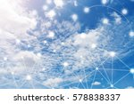 Wireless Communication Network Iot Internet - Fine Art prints