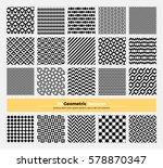 vector geometric texture pack...