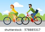 couple of man and woman are...   Shutterstock .eps vector #578885317