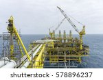 oil and gas industries. view of ... | Shutterstock . vector #578896237