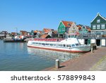 Harbor Of Edam Volendam At...