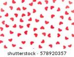 valentine's day  decorative... | Shutterstock . vector #578920357