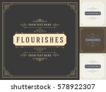 royal logo design template... | Shutterstock .eps vector #578922307