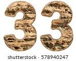 Numeral 33  Thirty Three ...