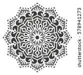 mandala. vector ethnic oriental ... | Shutterstock .eps vector #578941273