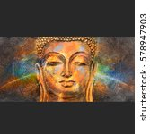 Head Of Lord Buddha Digital Ar...