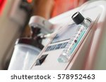 oxygen concentrator bar gage... | Shutterstock . vector #578952463
