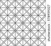 seamless geometric vector... | Shutterstock .eps vector #578959327