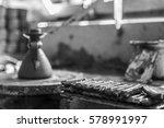 pottery workshop | Shutterstock . vector #578991997