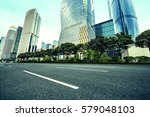 the road in the city of... | Shutterstock . vector #579048103