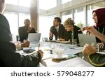 diversity people talk... | Shutterstock . vector #579048277