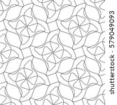 seamless  waves texture pattern ...   Shutterstock .eps vector #579049093