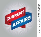 current affairs arrow tag sign. | Shutterstock .eps vector #579104833