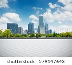 modern business building with... | Shutterstock . vector #579147643
