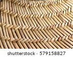 the texture of woven straw hat  ... | Shutterstock . vector #579158827