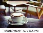 hot coffee | Shutterstock . vector #579166693