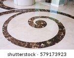 texture of the granite floor... | Shutterstock . vector #579173923