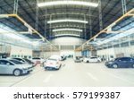car repair service centre in... | Shutterstock . vector #579199387