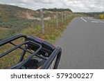 Sand Dunes And Cycle Path From...