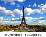 France. Paris. Eiffel Tower.