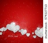 vector happy valentine's day...   Shutterstock .eps vector #579227713
