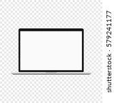 laptop. modern computer... | Shutterstock .eps vector #579241177