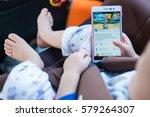 bangkok  thailand   feb 13 ... | Shutterstock . vector #579264307
