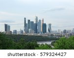 moscow city  moscow... | Shutterstock . vector #579324427